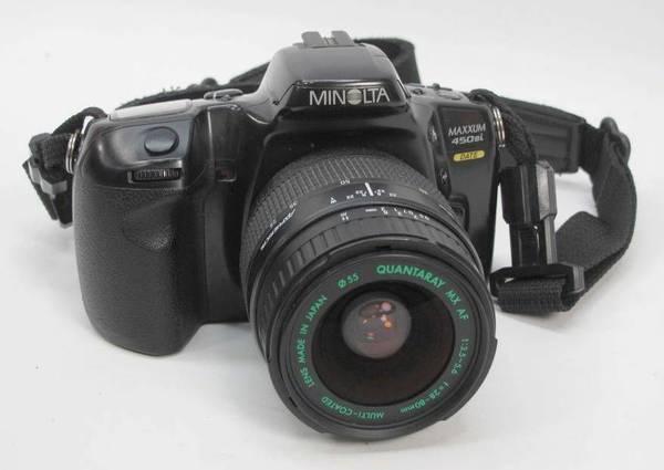 minolta maxxum 450 si camera for sale in roseburg oregon rh roseburg or americanlisted com  minolta maxxum 450 si user manual