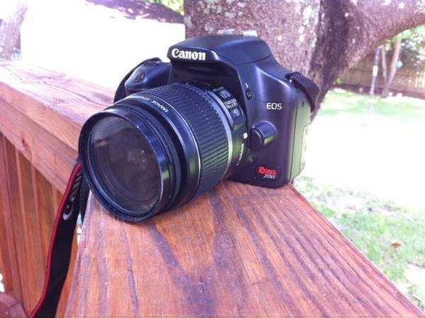 MINT Canon Rebel XSi with 18-55mm lens - $250