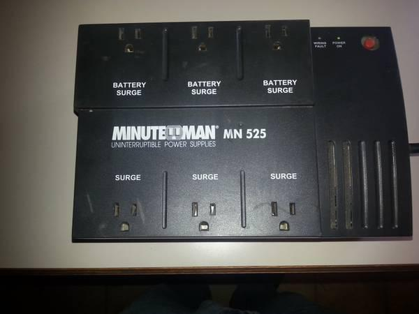 Minuteman MN 525 Uninterruptible Power Supply - $25