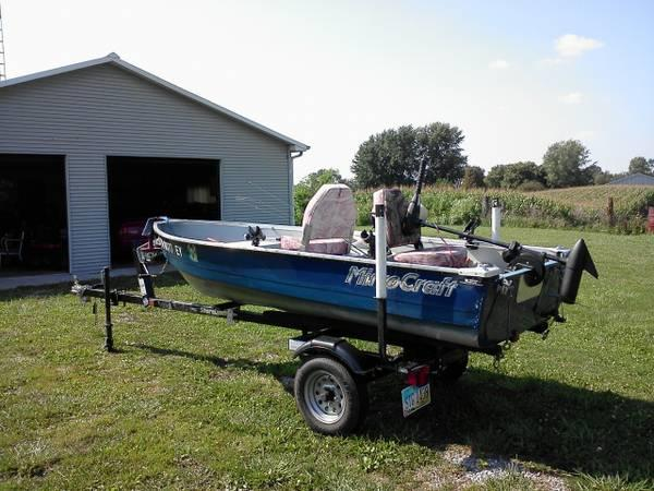 Mirrocraft 12 Aluminum Boat For Sale In Plymouth Ohio