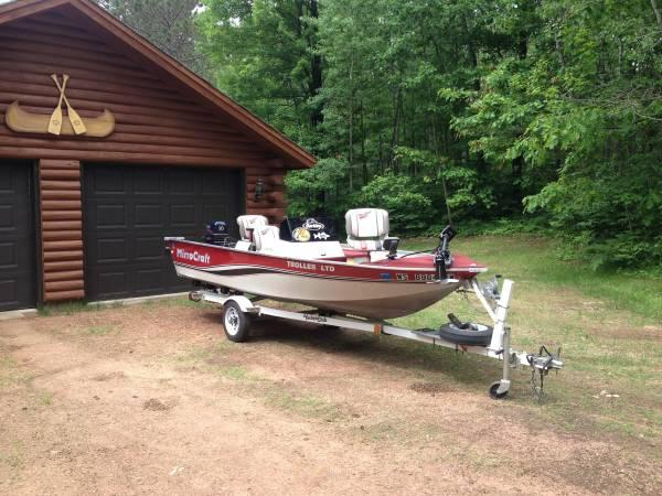 Mirrocraft fishing boat for sale in green bay wisconsin for Outboard motors for sale in wisconsin