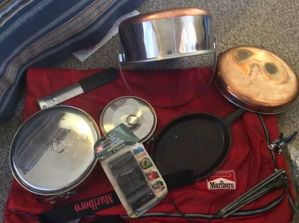 Misc camping equipment for sale