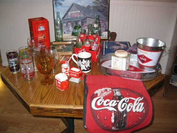 Misc. Coca Cola Collectibles - $70