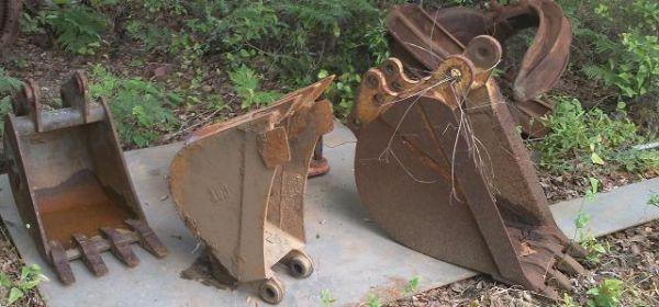 Misc loader backhoe buckets - $250 (Pensacola, Fl)