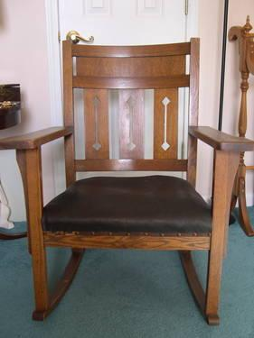 Mission Oak Rocking Chair & Mission Oak Rocking Chair for Sale in Garden City South Carolina ...