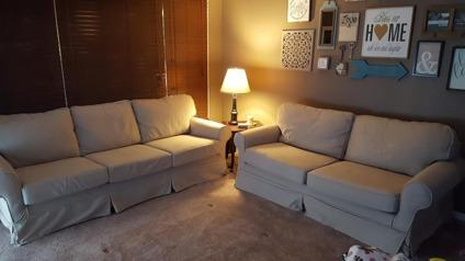 Mitchell Gold Bob Williams Sofa And Loveseat For Sale In