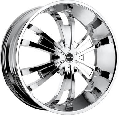 MKW 24 Chrome Wheels Chevy Impala Caprice Pontiac Glass House DONKS