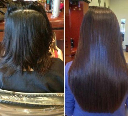 Mobile affordable hair extensions services 100% human