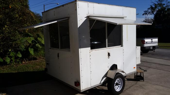 Mobile Concession Trailer For Sale In Winter Park Florida