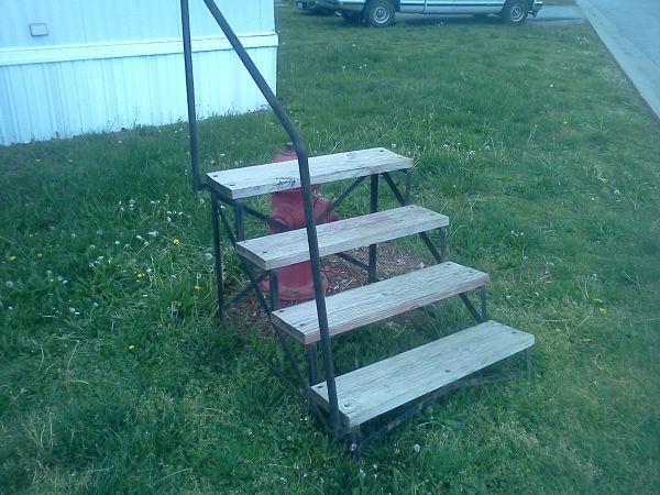 Portable Handrails For Steps Outside : Mobile home steps webb city mo for sale in joplin
