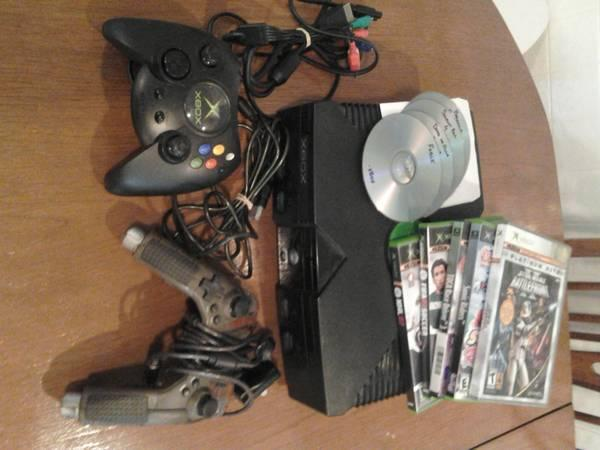 MODDED ORIGINAL XBOX - $40