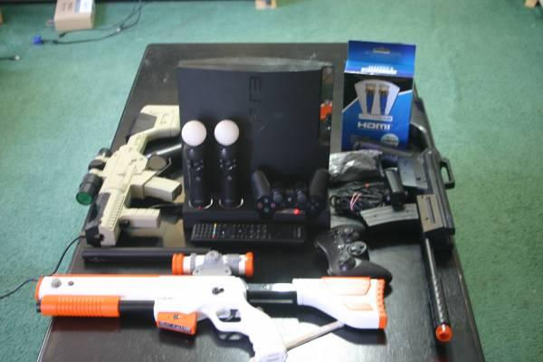 Modded PS3 Slim with Multiman - $440