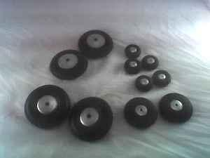 Model Airplane Rubber Wheels - $8 (Greendale)