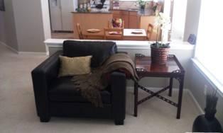Modern Black Leather Circular Sectional Sofa- Circle for ...