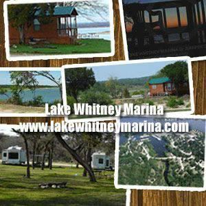 Modern cabins deep water boat ramp slip rentals for Fishing cabins for rent in texas