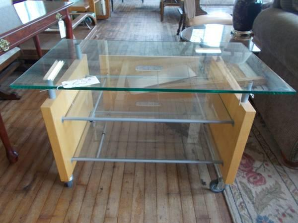 Modern Glass Television Stand For Sale In Greenwich Pennsylvania Classified