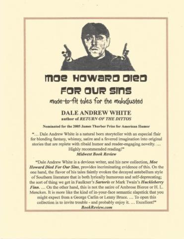 MOE HOWARD DIED FOR OUR SINS
