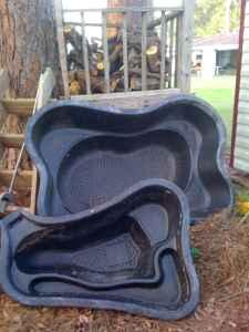 Pond liners for sale for Koi pond mold