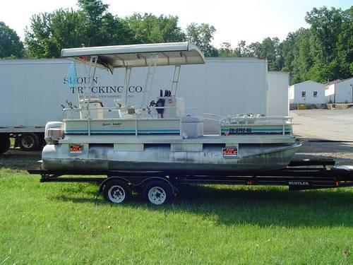 monark pontoon boat 22 ft for sale in kingsport tennessee classified. Black Bedroom Furniture Sets. Home Design Ideas