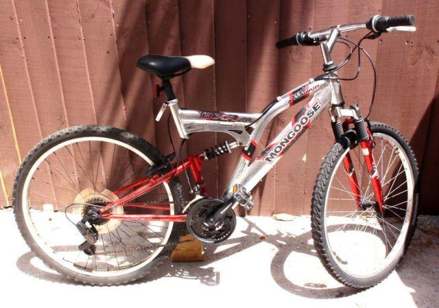 Mongoose Dxr Al 26 Quot Double Suspension Mountain Bicycle For