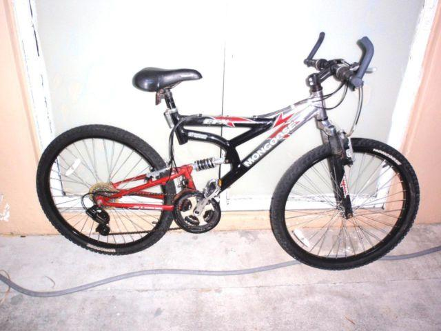 mongoose mountain bike dual suspension mountain bike bicycles for rh americanlisted com Mongoose XR 200 21 Speed Mongoose XR 200 Parts