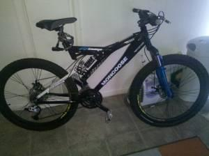 MONGOOSE mountain bike - $200 (Flint)