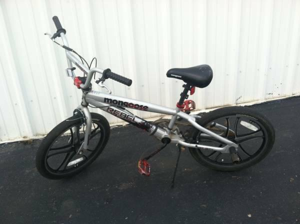 mongoose rebel boys bike for sale in chaffee new york classified. Black Bedroom Furniture Sets. Home Design Ideas