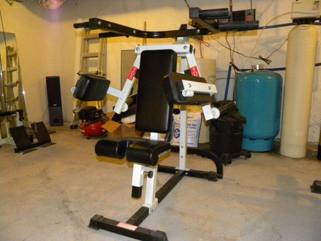Monster Sized Home Gym For The Serious Trainee For Sale