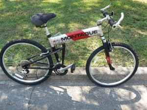 Montague 24 Speed Folding Bikes - $275 (Wilmington