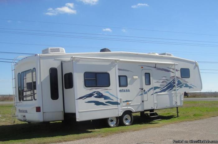 montana 35 ft 5th wheel for sale in rockport texas