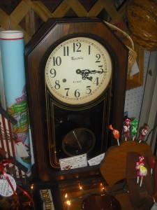 Montgomery Ward 31 Day Mantle Clock Junction Antique