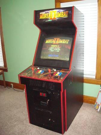 mortal kombat ii arcade machine game fully working for sale in