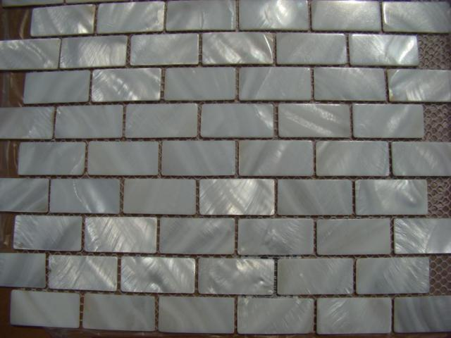 Mosaic Backsplash Tiles Mother Of Pearl Shell Wall Tile