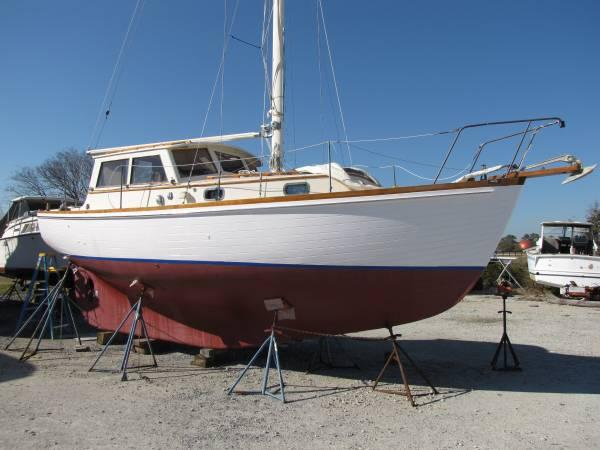 Motor Sailer For Sale In Sneads Ferry North Carolina