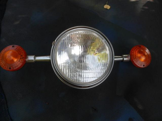 Motorcycle Headlights and Signals came out of a 1984