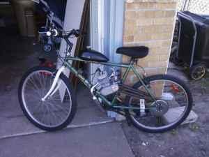 Motorized bicycle - $425 Park City