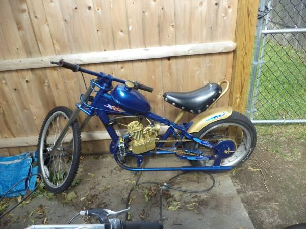 motorized chopper - $399