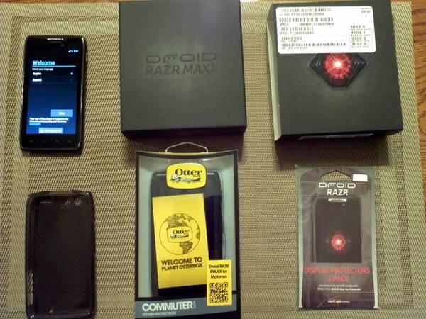 Motorola Droid Razr Maxx Verizon - $200