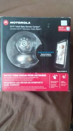 Motorola Wi-Fi Video Baby Monitor Camera - $200