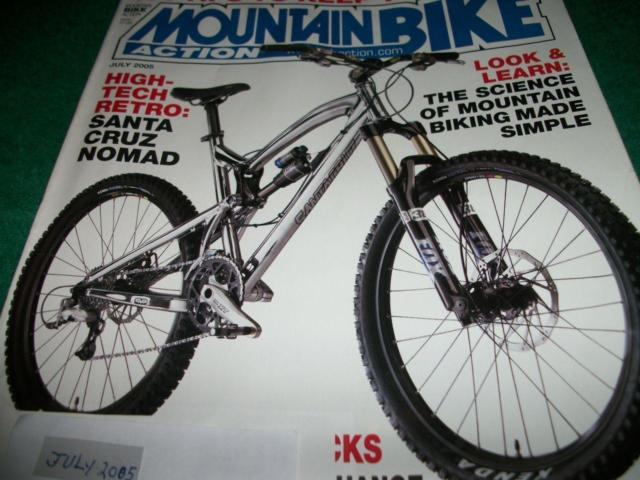 Mountain Bike Action,July 2005,Santa Cruz V-10,Titus