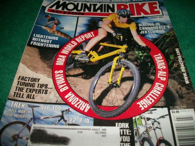 Mountain Bike Action MARCH 2001, Cannondale Jekyll