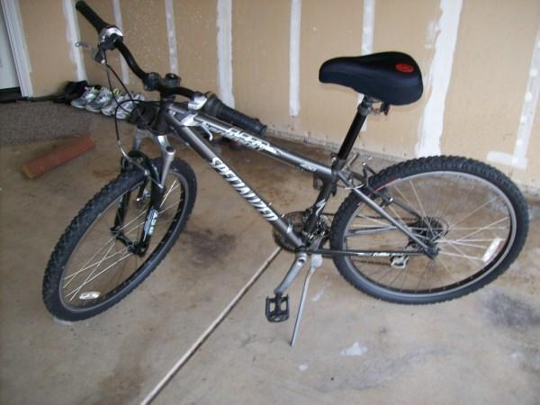 Mountain bikes set of two hard rock and 225 Bike