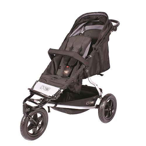 Mountain Buggy + One Stroller - Black