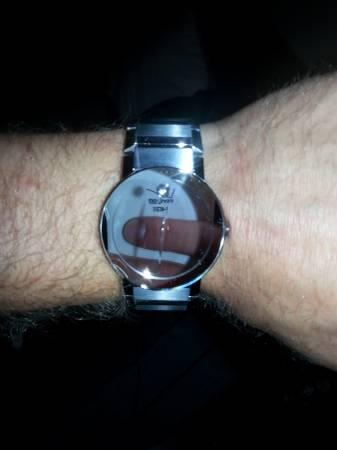 Movado Mirror Face Watch For Sale In Rawsonville