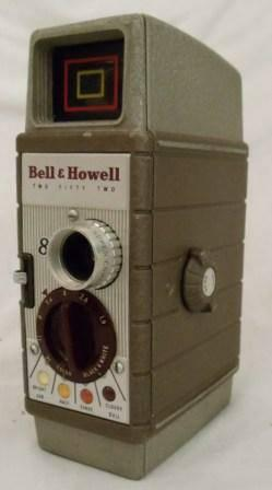 Movie Camera, Bell  Howell, 8mm - $55