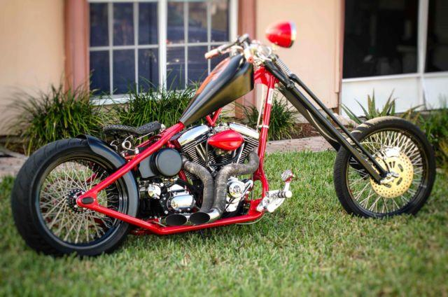 Moving Must Sell: 2007 ASPT Custom Chopper