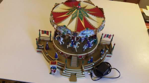 Mr Christmas Holiday Around The Carousel For Sale In