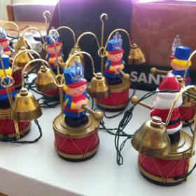 Mr Christmas Santas Marching Band Bell Ringers Holiday