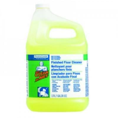 Mr Clean 1 Gal Lemon Scent Finished Floor Cleaner Case