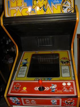 Ms Pac man Galaga Pacman upright video arcade game with warranty